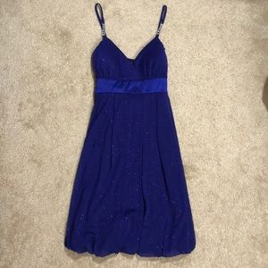 navy blue dress NWT.